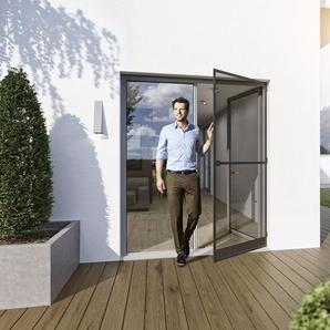 wip Insektenschutztür, Aluminium, selbstschließend, zum Schrauben, B 120 x H 240 cm