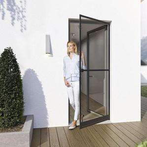 wip Universal-Klemmzarge, für Insektenschutztüren, Aluminiumprofile, B 125 x H 245 cm