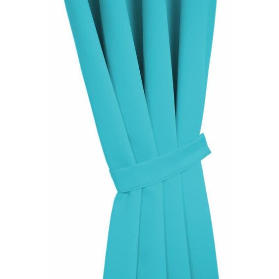 Wirth Raffhalter DIM OUT B/H: 60 cm x 6 blau Zubehör für Gardinen Vorhänge