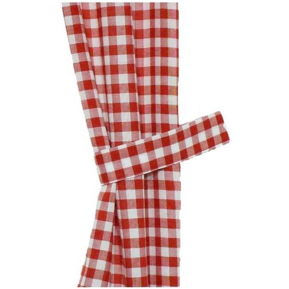 Wirth Raffhalter Finja B/H: 60 cm x 6 rot Zubehör für Gardinen Vorhänge