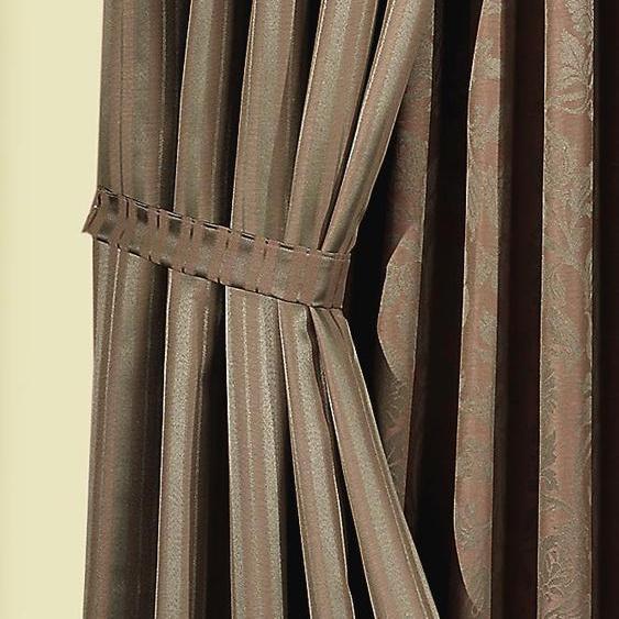 Wirth Raffhalter Jasmin B/H: 60 cm x 6 braun Zubehör für Gardinen Vorhänge