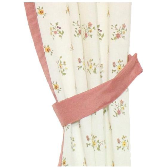Wirth Raffhalter Magdalena B/H: 60 cm x 6 rosa Zubehör für Gardinen Vorhänge
