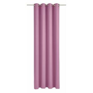 Wirth Vorhang »Dim out«, H/B 180/145 cm, lila
