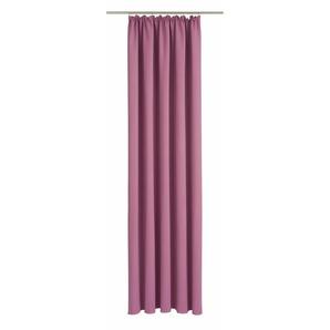 Wirth Vorhang »Dim out«, H/B 255/145 cm, lila
