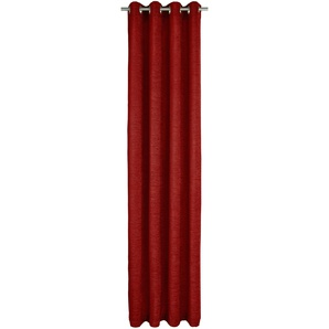 Wirth Gardine »Trondheim 328 g/m²«, H/B 245/172 cm, rot, blickdichter Stoff