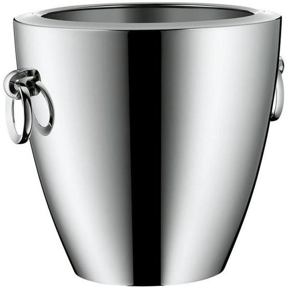 WMF Champagnerkühler , Silber , Metall , 23 cm