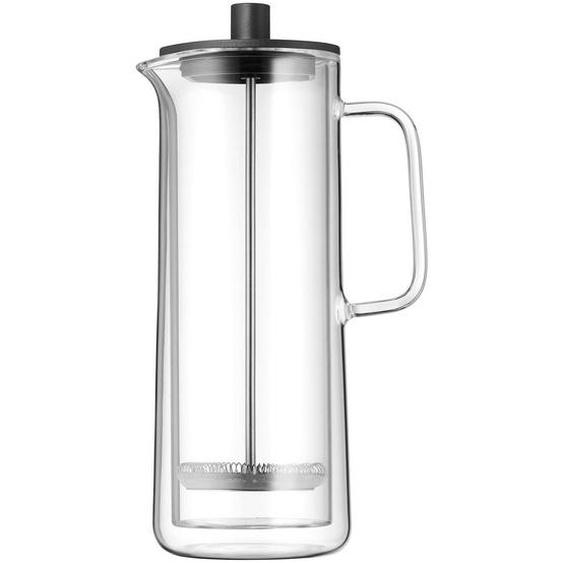 WMF Kaffeebereiter 0,75 L , Schwarz , Glas , 16x12 cm