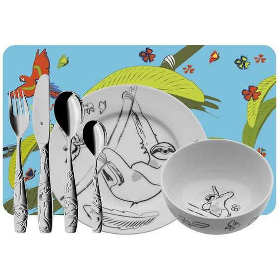 WMF Kinderbesteck-Set 7-teilig  Tommy ¦ Edelstahl, Porzellan, Kunststoff
