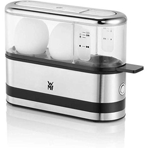 WMF 415020011 KÜCHENminis 2-Eier-Kocher, Eierkocher für 1-2 Eier, mit Eipick, BPA-freies Tritan, 250 W,