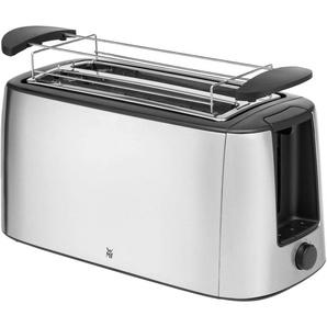 WMF Toaster Bueno Pro, 2 lange Schlitze, 1550 W Einheitsgröße silberfarben SOFORT LIEFERBARE Haushaltsgeräte