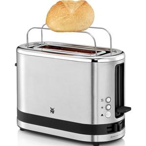WMF Toaster KÜCHENminis, 1 langer Schlitz, für Scheibe, 600 W Einheitsgröße silberfarben Haushaltsgeräte
