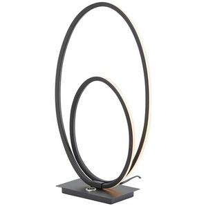 Wofi LED-Tischleuchte, schwarz ¦ schwarz
