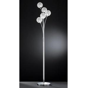 WOFI Stehlampe »ARC«, 5-flammig