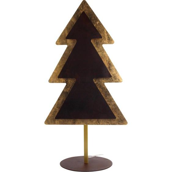 WOFI,Stehlampe MEALLA 1 -flg. /, H:80 cm goldfarben LED Stehlampen LED-Lampen und LED-Leuchten Lampen Leuchten