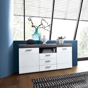 Wohnconcept Sideboard ,Weiß ,Holz