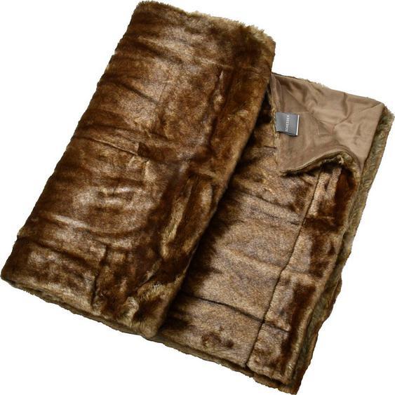 Wohndecke »Fake Fur«, Schiesser, mit Wendeoptik