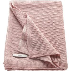 Wohndecke »Knitted«, Esprit, in feiner Strickoptik