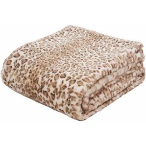 Wohndecke »Leopard«, Gözze, mit Leopardenmuster