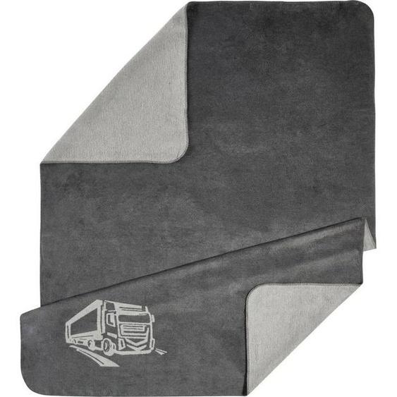 Wohndecke »Motiv«, Kneer, wahlweise mit LKW, Gingko oder Hirsch