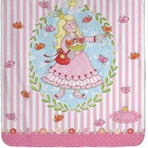 Wohndecke »Prinzessin Anneli Flower«, 130x170 cm, trocknergeeignet, rosa