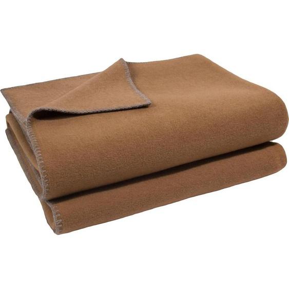 Wohndecke »Soft-Fleece«, zoeppritz, mit Häkeleinfassung