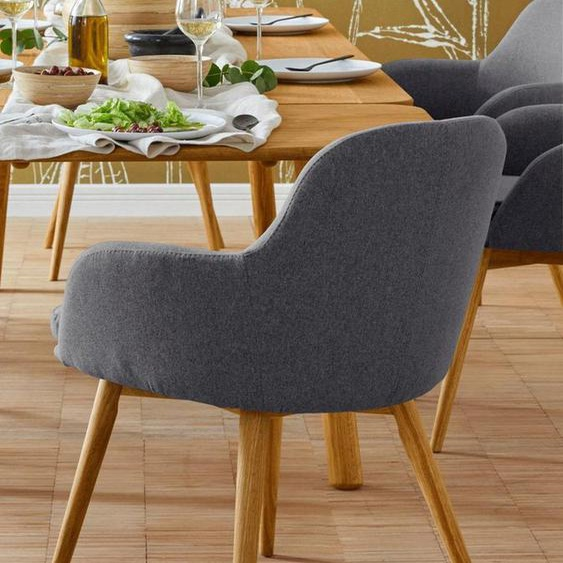 Premium collection by Home affaire Armlehnstuhl »Livry« (Set, 2 Stück), Polsterstuhl, Schalenstuhl
