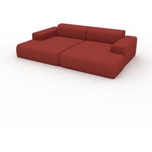 Wohnlandschaft Blutorange - Flexible Designer-Wohnlandschaft: Hochwertige Materialien, einzigartiges Design - 270 x 72 x 168 cm, Konfigurator