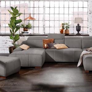 Premium collection by Home affaire Wohnlandschaft , Recamiere links, »Spirit«, mit Bettfunktion, FSC®-zertifiziert