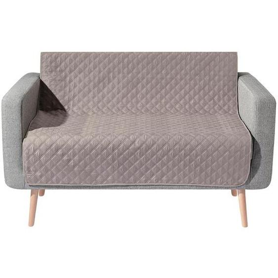 Wohnprogramm 3, 40x60 cm, 2 Armlehnenschoner braun Sofaüberwürfe Hussen Überwürfe