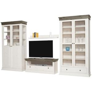 Wohnwand | Holzfarben | 370 Cm | 210 Cm | 46 Cm | Möbel Kraft