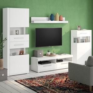 Wohnwand Minden für TVs bis zu 58