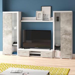 Wohnwand Trejo für TVs bis zu 60