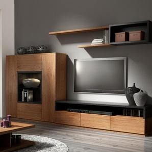 Wohnwand Black Sun für TVs bis zu 60