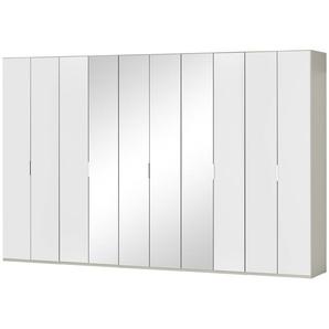 Wohnwert Falttürenschrank   Forum | grau | 375 cm | 216 cm | 58 cm | Möbel Kraft