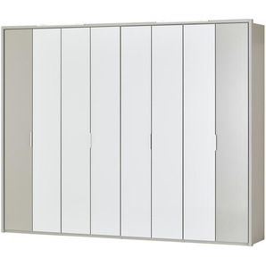 Wohnwert Falttürenschrank  Serie Forum | grau | 306,4 cm | 240 cm | 58 cm | Möbel Kraft