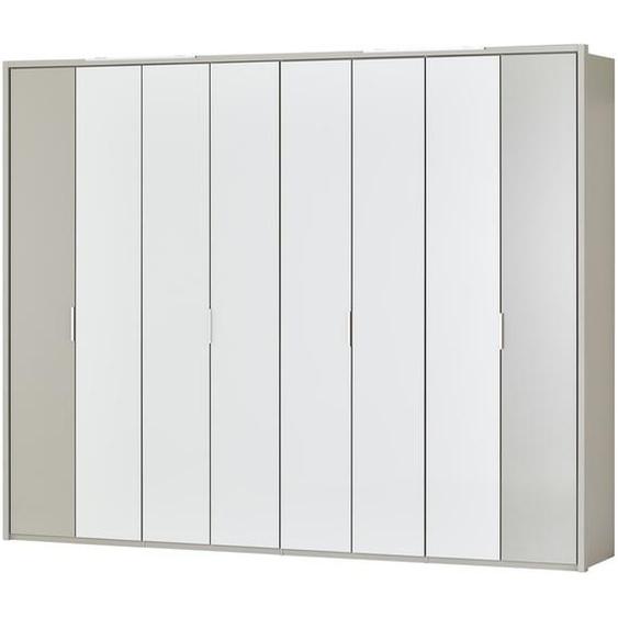 Wohnwert Falttürenschrank  Serie Forum - grau | Möbel Kraft