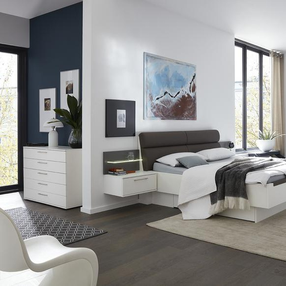 Wohnwert Schlafzimmer  Kollina ¦ weiß