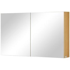 Wohnwert Spiegelschrank  Capri ¦ holzfarben ¦ Maße (cm): B: 120 H: 70 T: 18 Schränke  Badschränke  Spiegelschränke » Höffner