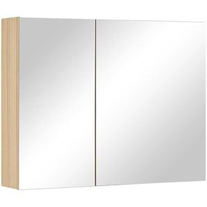 Wohnwert Spiegelschrank  Capri ¦ holzfarben ¦ Maße (cm): B: 90 H: 70 T: 18 Schränke  Badschränke  Spiegelschränke » Höffner