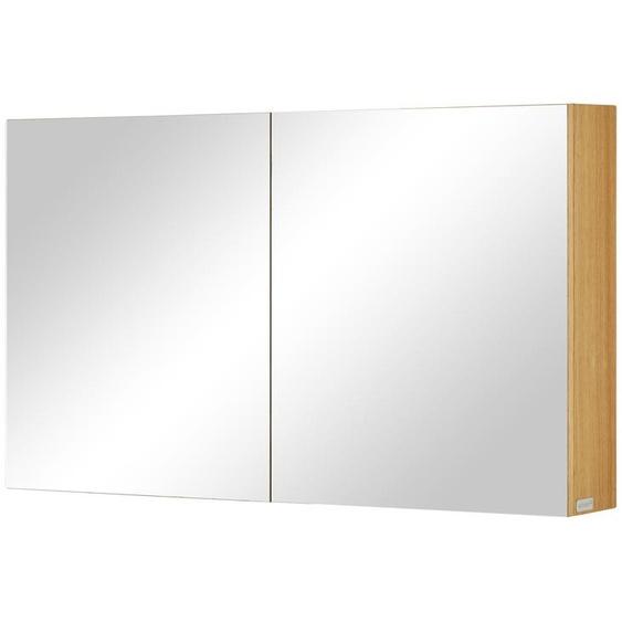 Wohnwert Spiegelschrank  Capri ¦ holzfarben
