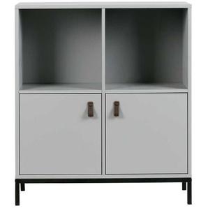 Wohnzimmer Schr�nkchen in Grau Skandi Design