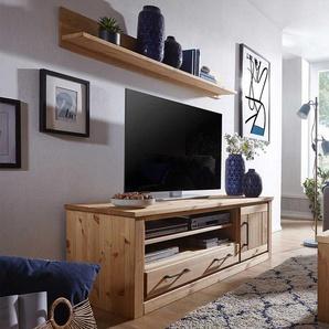 Wohnzimmer Set aus Kiefer Massivholz Landhaus Design (2-teilig)