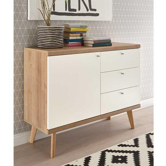Wohnzimmerkommode mit drei Schubladen Skandi Design