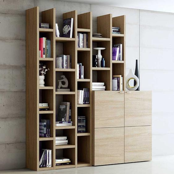 Wohnzimmermöbel Set in Eiche modern (2-teilig)