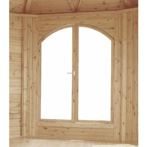 Wolff Finnhaus Doppelfenster zum Öffnen für Pavillon Ibiza