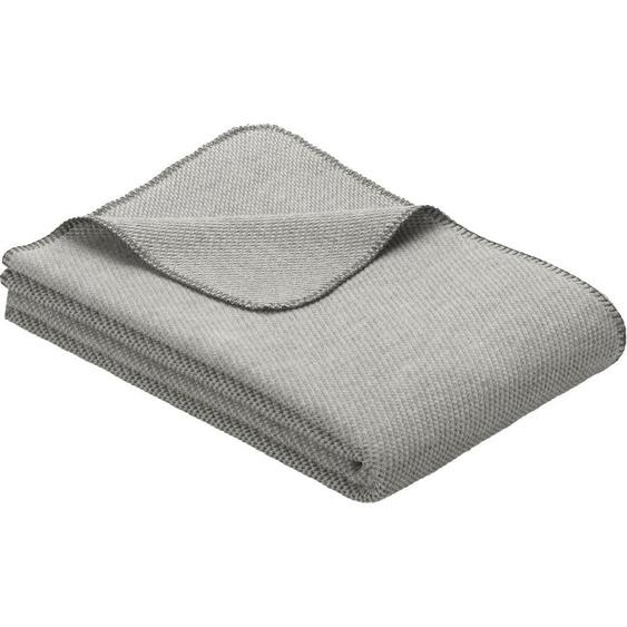 Wolldecke »Jacquard Decke Auckland«, IBENA, GOTS zertifiziert