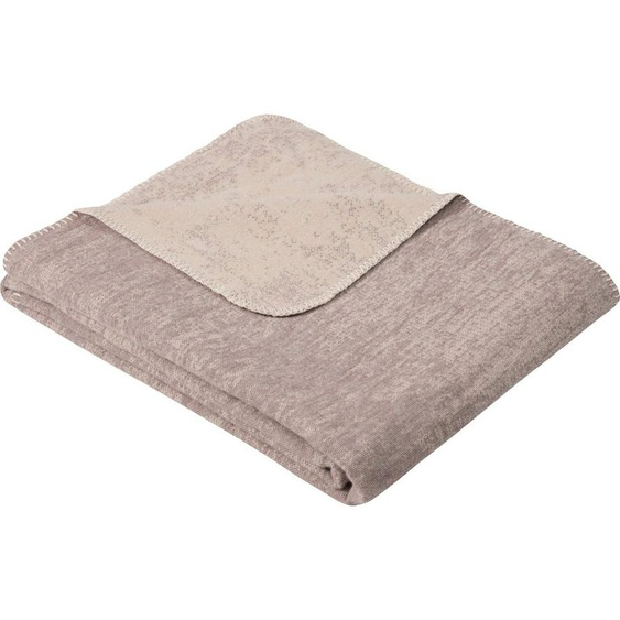 Wolldecke »Jacquard Decke Rom«, IBENA, GOTS zertifiziert