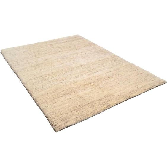 Wollteppich »Royal Dou 1«, THEKO, rechteckig, Höhe 22 mm, reine Wolle, echter Berber, handgeknüpft, Wohnzimmer