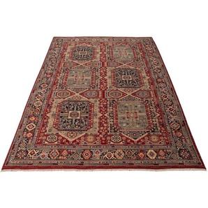 Wollteppich »Saharna 7275«, THEKO, rechteckig, Höhe 10 mm, reine Wolle, Orient-Optik, mit Fransen, Wohnzimmer