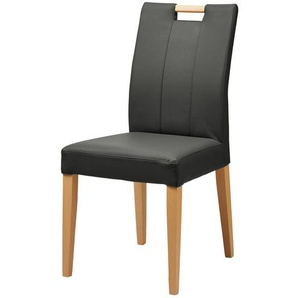 Woodford Stuhl  Viola ¦ grau ¦ Maße (cm): B: 47 H: 95 T: 59 Stühle  Esszimmerstühle  Esszimmerstühle ohne Armlehnen » Höffner